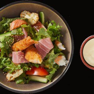 087 Seafood salat
