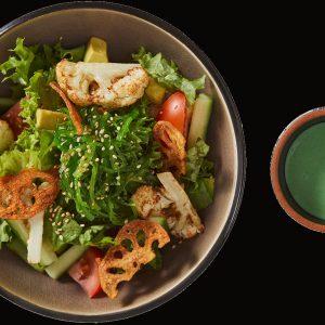 088 Green salat