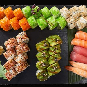 107 Sushi de Lux - 46 stk