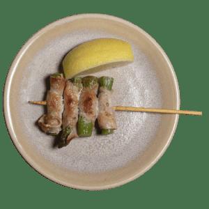 096 Bacon i asparges